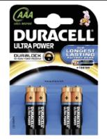 Duracell Duracell Ultra Power AAA blister 4-stuks