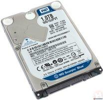 WD blue mobile WD10SPZX 1000 GB 2,5 inch Sata Harddisk Nieuw