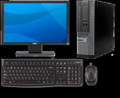 Dell Optiplex 3010 Intel i3-3220 - 4GB - 250GB W10 Set