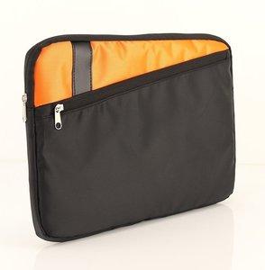 "Tas 14,0"" Sleeve Amsterdam GFY-914 Zwart-Oranje"