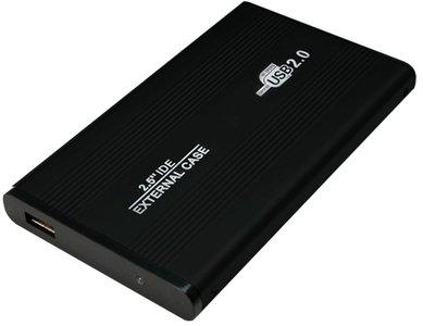 """2.5"""" Logilink Enclosure USB2.0 / IDE / Zwart"""