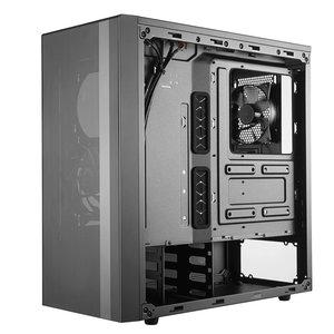 "Cooler Master NR600 incl 5.25"" bay - TG/USB3.2/Midi/ATX"
