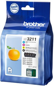 Brother LC-3211VAL Value Pack 14,2ml (Origineel)