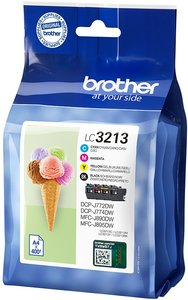 Brother LC-3213VAL Value Pack 23,2ml (Origineel)