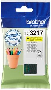 Brother LC-3217Y Geel 550 pagina's (Origineel)