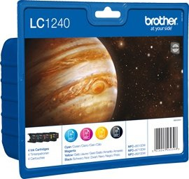 Brother LC-1240 Value Pack 35,2ml (Origineel)
