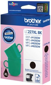 Brother LC-227XLBK Zwart 11,8ml (Origineel)