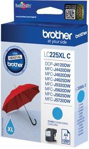 Brother LC-225XLC Cyaan 11,8ml (Origineel)