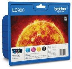 Brother LC-980 Value Pack 22,5ml (Origineel)