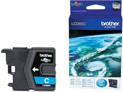 Brother LC-985C Cyaan 4,0ml (Origineel)