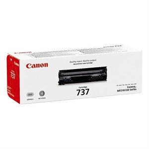 Canon 737 Zwart 2.100 pagina`s (Origineel)