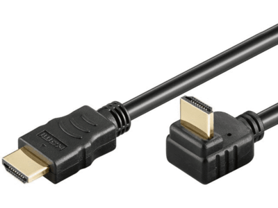 HDMI 2.00m v1.4 90° Goobay