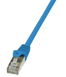 RJ45 1.50m Blauw Cat6A S/FTP LogiLink