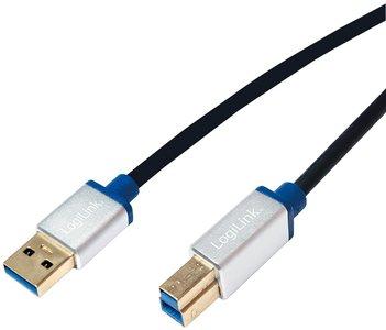 USB 3.0 A --> B 1.50m LogiLink Premium