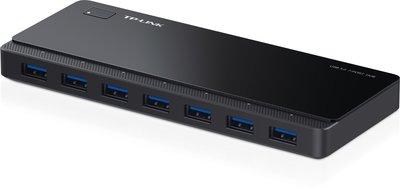 TP-Link 7 Port Hub, USB 3.0 actief zwart