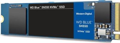 250GB M.2 PCIe NVMe WD Blue SN550 3D/TLC/2400/950 Ret