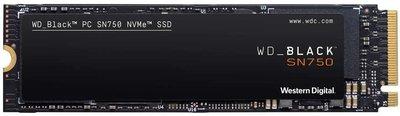 500GB M.2 PCIe NVMe WD Black SN750 3D/TLC/3470/2600 Ret