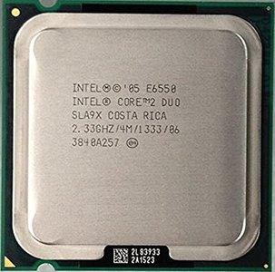 Intel Core 2 Duo E6550 Socket:  LGA775