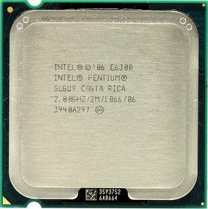 Intel Pentium E6300 Socket:  LGA775