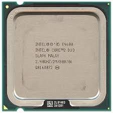Intel Core 2 Duo E4600 Socket:  LGA775