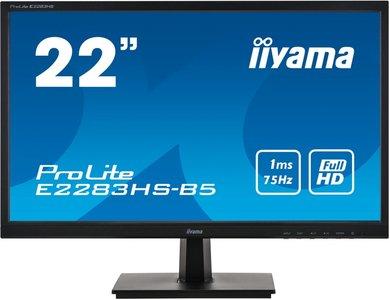 "22"" Iiyama ProLite E2283HS FHD/DP/HDMI/VGA/Speaker"