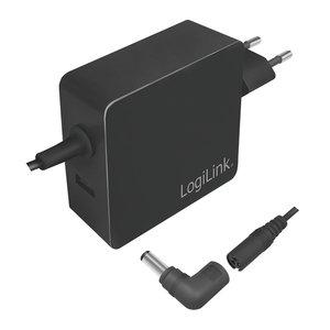 Power Adapter 70W + 1xUSB 5V 2100mA LogiLink