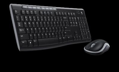 Logitech MK270 Zwart
