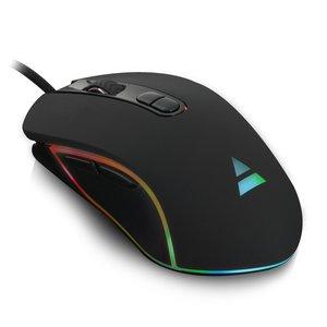 PL3301 Gaming Muis met RGB-verlichting en 1200-2400-3200-4800 DPI