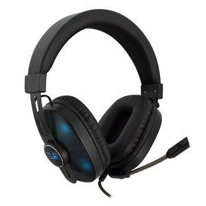 PL3321 Over-ear Gaming Headset met microfoon en RGB leds